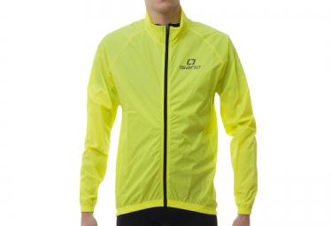 ISANO Long Sleeves Jacket IS WIND Fluo Yellow