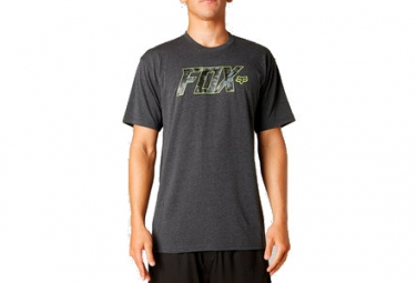 fox t shirt swingarm tech heather noir s