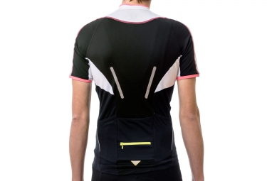 gore bike wear maillot power phantom 2 0 noir blanc s