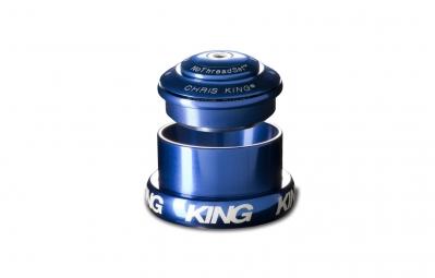 chris king jeu de direction externe conique 1 1 8 1 5 bleu
