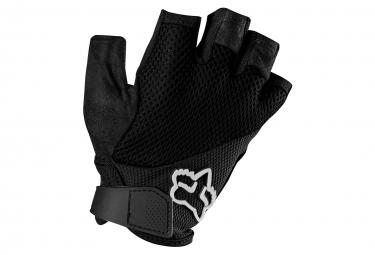 fox gants courts femme reflex noir s