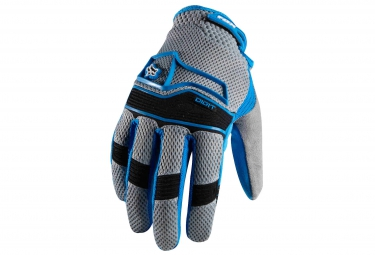 FOX Gants DIGIT GLOVE BLEU/GRIS
