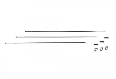Zipp rayons sapim cx ray 246mm noir