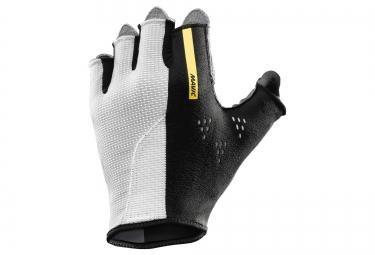 mavic paire de gants cosmic pro blanc noir xs