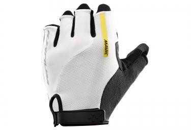 mavic paire de gants ksyrium elite blanc noir xs