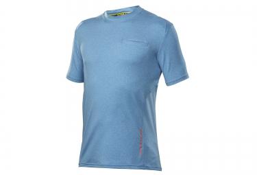 mavic 2016 maillot manches courtes crossride bleu xxl
