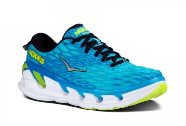 Chaussures de Running Hoka VANQUISH 2 Blanc / Bleu