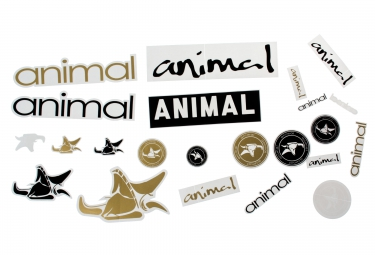 ANIMAL Kit Stickers Pack