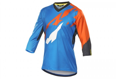 mavic maillot 3 4 crossmax pro bleu orange m