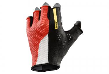 mavic paire de gants cosmic pro rouge noir s