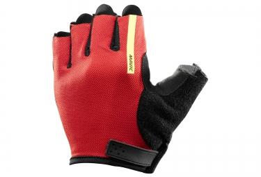 mavic paire de gants aksium noir rouge vif s