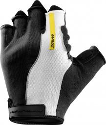 Mavic paire de gants ksyrium pro noir blanc s