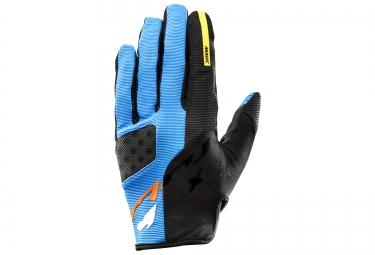gants mavic crossmax pro bleu noir xs