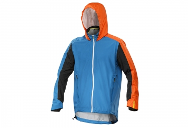 mavic veste xmax pro h2o bleu orange m