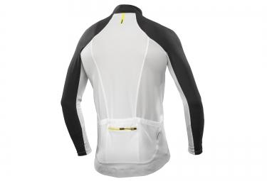 mavic maillot manches longues ksyrium pro blanc noir xl