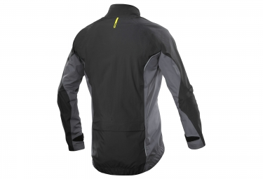 mavic veste cosmic elite h20 noir gris orange s