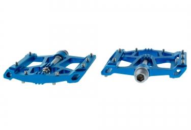 HT Pédales Plates AE02 Bleu
