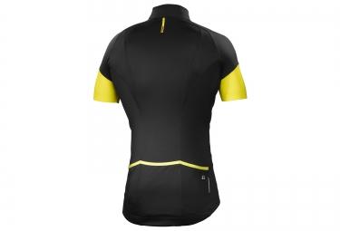 mavic maillot cosmic pro noir jaune xl