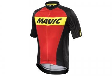 MAVIC Maillot COSMIC Rouge Noir