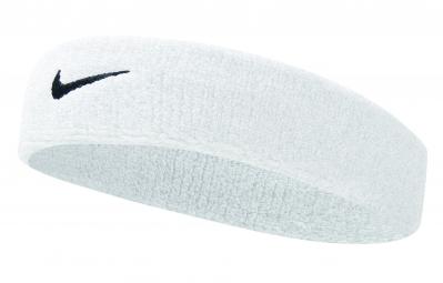 Bandeau éponge Nike Swoosh Blanc
