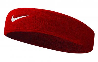 Bandeau éponge Nike Swoosh Rouge
