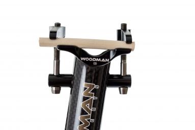WOODMAN Seatpost CARBO GT2 Ti Carbon