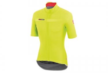 castelli maillot gabba 2 windstopper jaune m