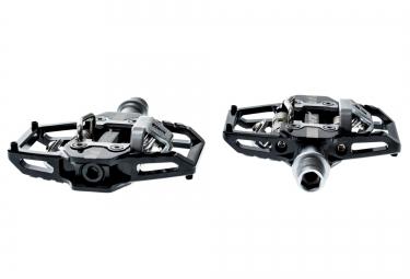 ht paire de pedales automatiques t1 noir