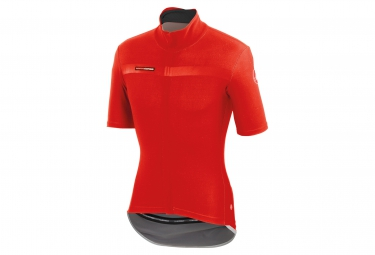 Castelli maillot gabba 2 windstopper rouge xl