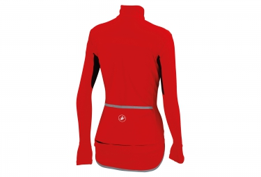 castelli veste gabba windstopper x lite rouge femme m