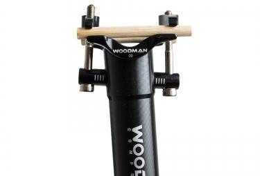 WOODMAN Seatpost GT2 Aluminium - Black