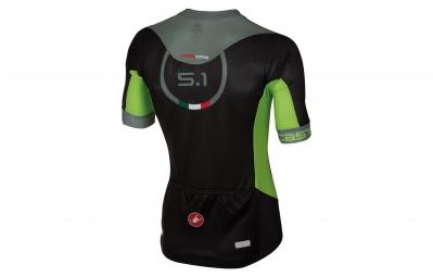 castelli maillot aero race 5 1 noir vert m