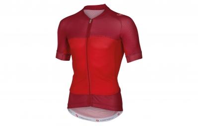 castelli maillot aero race 5 1 rouge xxl