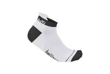 castelli paire de chaussettes bellissima blanc noir femme 39 41
