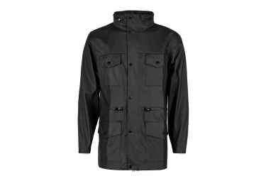 rains veste four pocket jacket noir l xl