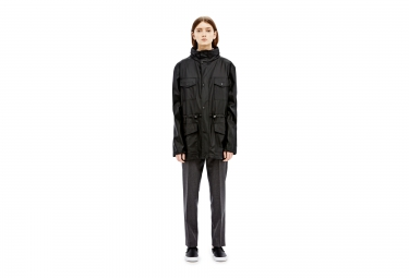 RAINS Veste FOUR POCKET JACKET Noir