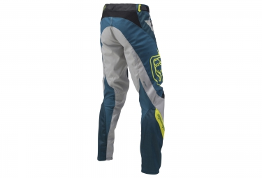 troy lee designs 2016 pantalon sprint reflex bleu gris 30