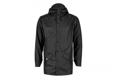 rains veste jacket noir l xl