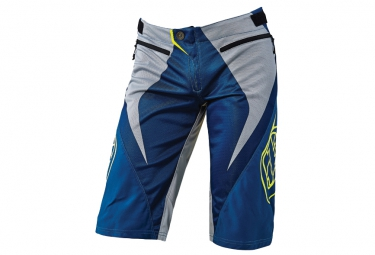 short troy lee designs sprint reflex bleu 32