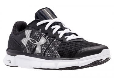 Under armour micro g speed swift noir blanc 35 1 2