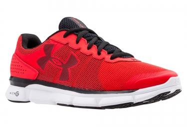Chaussures de Running Under Armour MICRO G SPEED SWIFT Blanc / Noir / Rouge