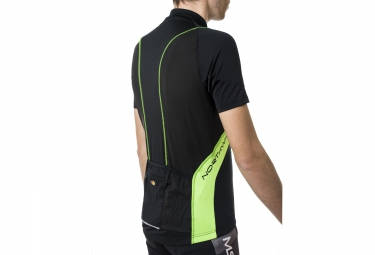 northwave maillot sonic vert noir m