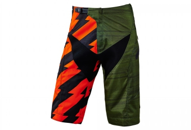 Short TROY LEE DESIGNS MOTO Vert Orange