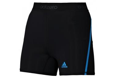 adidas short competition adizero femme noir bleu l