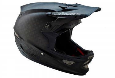 TROY LEE DESIGNS 2016 Helmet D3 CARBON MIPS MIDNIGHT Matte Black