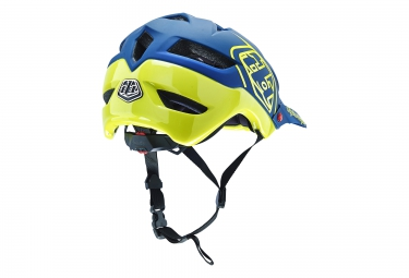 Casque TROY LEE DESIGNS A1 DRONE 2016 Bleu Jaune