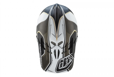 casque integral troy lee designs d2 sonar 2016 noir blanc m l 56 59 cm