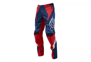 Troy lee designs pantalon sprint reflex bleu rouge 36