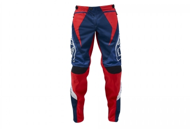 troy lee designs 2016 pantalon sprint reflex bleu rouge 32