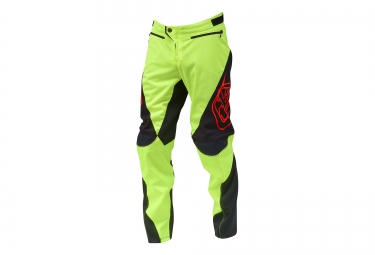 Troy lee designs pantalon sprint jaune fluo 36